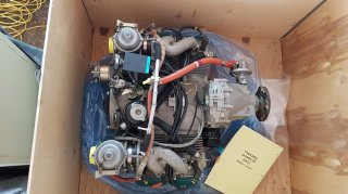 occasion ulm New Rotax 912 ULS 100HP 84 heures